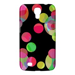 Colorful decorative circles Samsung Galaxy Mega 6.3  I9200 Hardshell Case