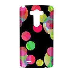 Colorful decorative circles LG G3 Hardshell Case