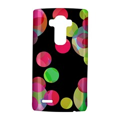 Colorful decorative circles LG G4 Hardshell Case