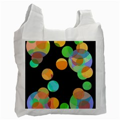 Orange circles Recycle Bag (Two Side)