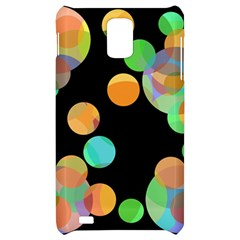 Orange circles Samsung Infuse 4G Hardshell Case