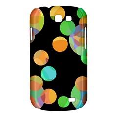 Orange circles Samsung Galaxy Express I8730 Hardshell Case