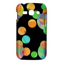 Orange circles Samsung Galaxy Ace 3 S7272 Hardshell Case