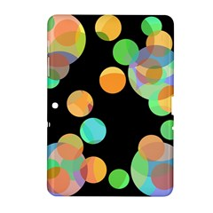 Orange circles Samsung Galaxy Tab 2 (10.1 ) P5100 Hardshell Case