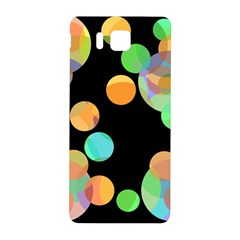 Orange circles Samsung Galaxy Alpha Hardshell Back Case