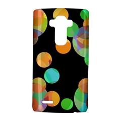 Orange circles LG G4 Hardshell Case