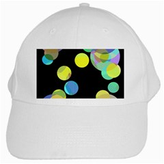 Yellow circles White Cap