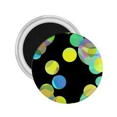 Yellow circles 2.25  Magnets