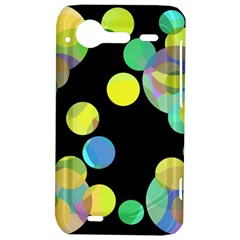 Yellow circles HTC Incredible S Hardshell Case