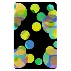 Yellow circles Kindle Fire (1st Gen) Hardshell Case