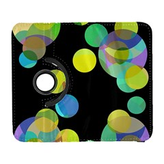 Yellow circles Samsung Galaxy S  III Flip 360 Case