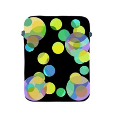 Yellow circles Apple iPad 2/3/4 Protective Soft Cases