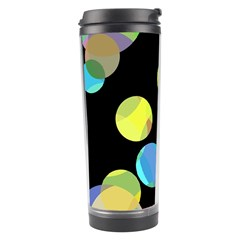 Yellow circles Travel Tumbler