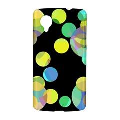 Yellow circles LG Nexus 5