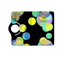 Yellow circles Kindle Fire HD (2013) Flip 360 Case