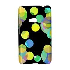 Yellow circles Nokia Lumia 625