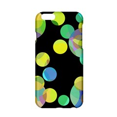 Yellow circles Apple iPhone 6/6S Hardshell Case