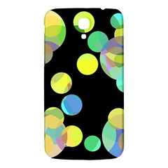 Yellow circles Samsung Galaxy Mega I9200 Hardshell Back Case