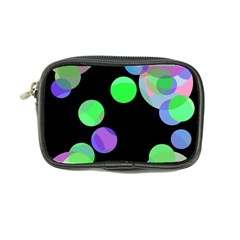 Green decorative circles Coin Purse
