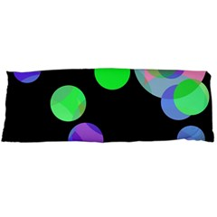 Green decorative circles Body Pillow Case (Dakimakura)