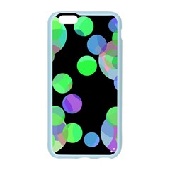 Green decorative circles Apple Seamless iPhone 6/6S Case (Color)