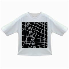 Black and white simple design Infant/Toddler T-Shirts