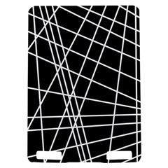 Black and white simple design Kindle Touch 3G