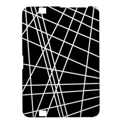 Black and white simple design Kindle Fire HD 8.9
