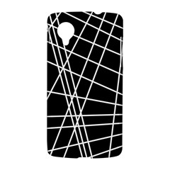 Black and white simple design LG Nexus 5