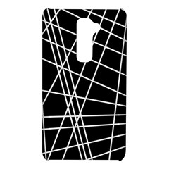 Black and white simple design LG G2