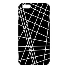 Black And White Simple Design Iphone 6 Plus/6s Plus Tpu Case