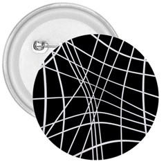 Black and white elegant lines 3  Buttons