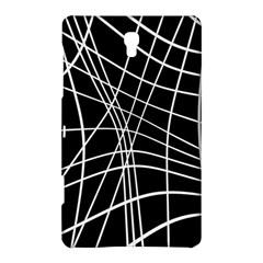 Black and white elegant lines Samsung Galaxy Tab S (8.4 ) Hardshell Case