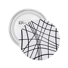 Black and white decorative lines 2.25  Buttons