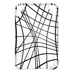 Black and white decorative lines Kindle 3 Keyboard 3G
