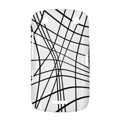 Black and white decorative lines BlackBerry Curve 9380