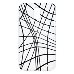 Black and white decorative lines Samsung Galaxy S II Skyrocket Hardshell Case