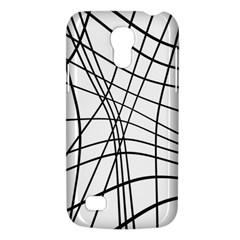 Black and white decorative lines Galaxy S4 Mini