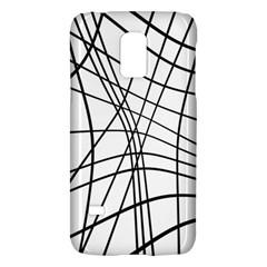 Black and white decorative lines Galaxy S5 Mini