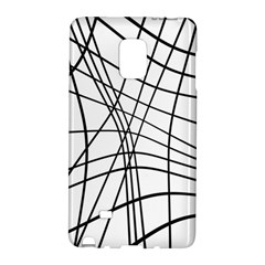 Black and white decorative lines Galaxy Note Edge