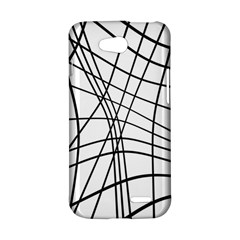 Black and white decorative lines LG L90 D410