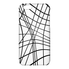 Black and white decorative lines iPhone 6/6S TPU Case