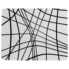 Black and white decorative lines Jigsaw Puzzle Photo Stand (Rectangular)