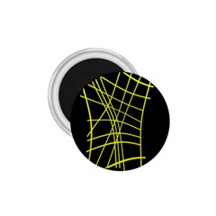 Yellow abstraction 1.75  Magnets