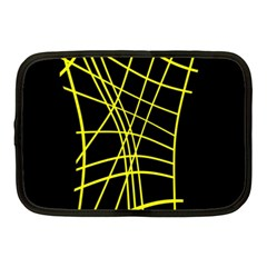 Yellow abstraction Netbook Case (Medium)