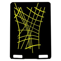 Yellow abstraction Kindle Touch 3G