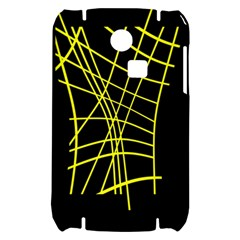 Yellow abstraction Samsung S3350 Hardshell Case