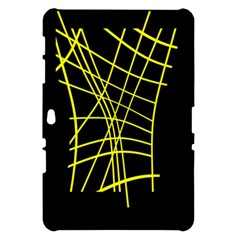 Yellow abstraction Samsung Galaxy Tab 10.1  P7500 Hardshell Case