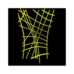 Yellow abstraction Acrylic Tangram Puzzle (6  x 6 )
