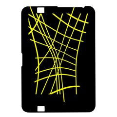 Yellow abstraction Kindle Fire HD 8.9